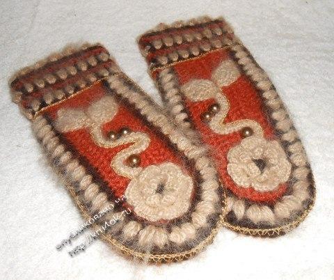 Free Online Crochet Glove Patterns : Crochet Gloves - Free Pattern - Crochet Yarn Online