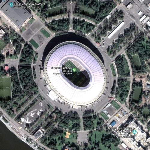 Stadion Luzhniki, Moscow, Rusia | Piala Dunia FIFA 2018