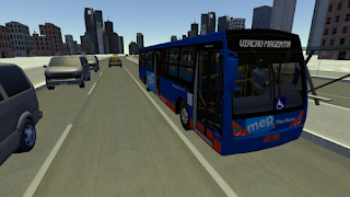 Game Simulasi Bus Android - Proton bus simulator