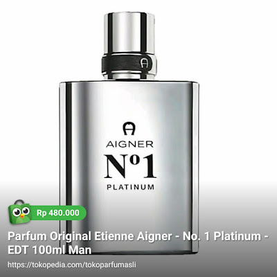 etienne aigner no.1 platinum edt 100ml man