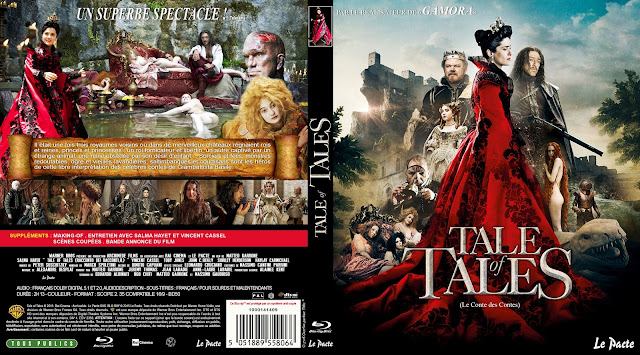 Tale of Tales Bluray Cover