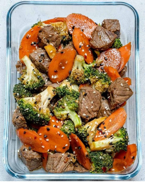 Super Easy Beef Stir Fry For Clean Eating Meal Prep