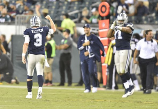 Dallas Cowboys Brandon Weeden Must Remember The Name On His Birth Certificate - CTC Sports