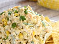 Tex-Mex Fresh Corn Dip