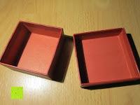 Schachtel innen: Adventskalender als piratige rustikale Schatztruhe - 24 einzelnen Schatzboxen - Ideal für den Advent