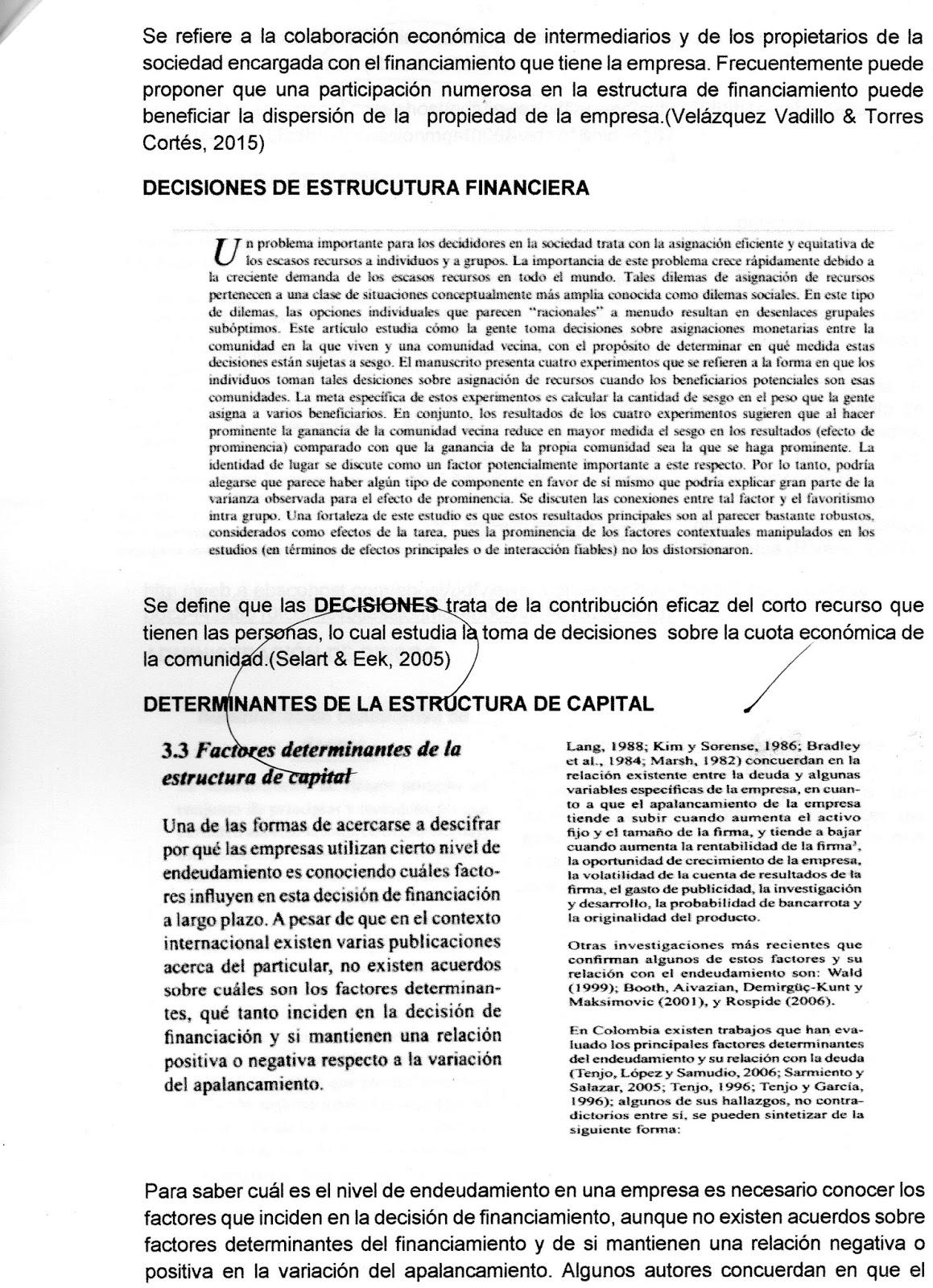 Administración Financiera Estructura Financiera