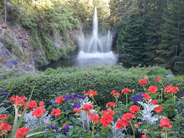 Butchart Gardens Vancouver island canada
