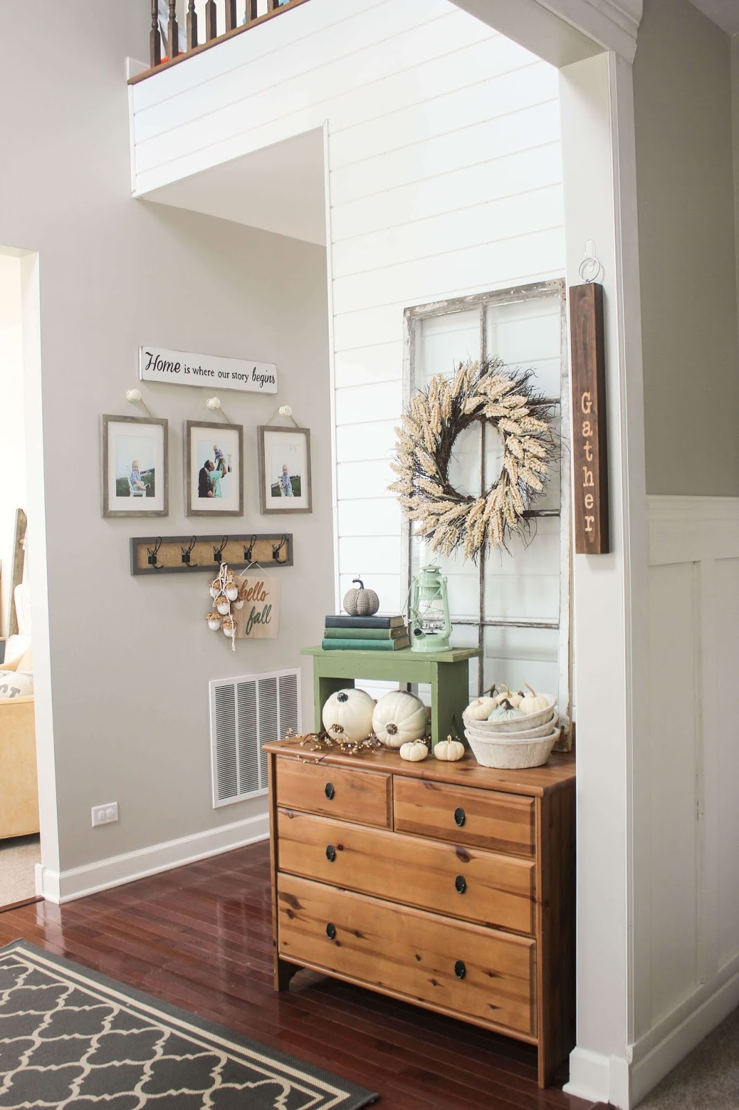 fall decor ideas for entry way