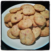 cookies chocolat blanc et pralines