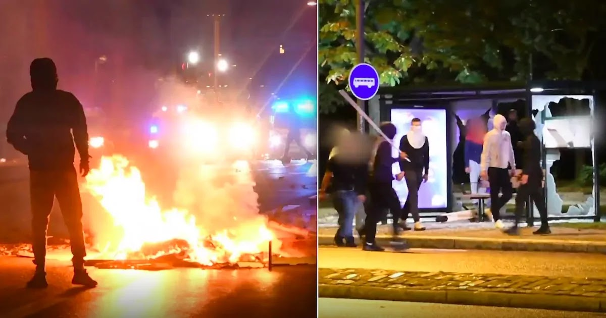 Riots Break Out In Malmo, Sweden, After Far-Right Group Burns The Quran, Video Footage Shows Clashes With Police And The Burning Of Cars