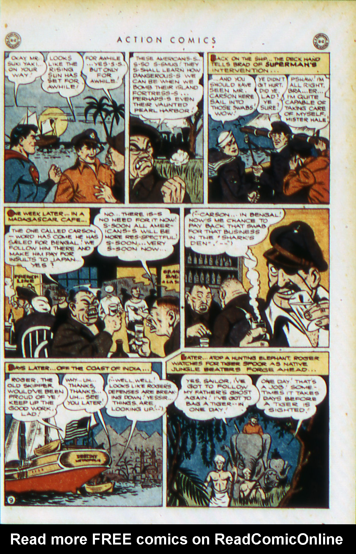Read online Action Comics (1938) comic -  Issue #76 - 12