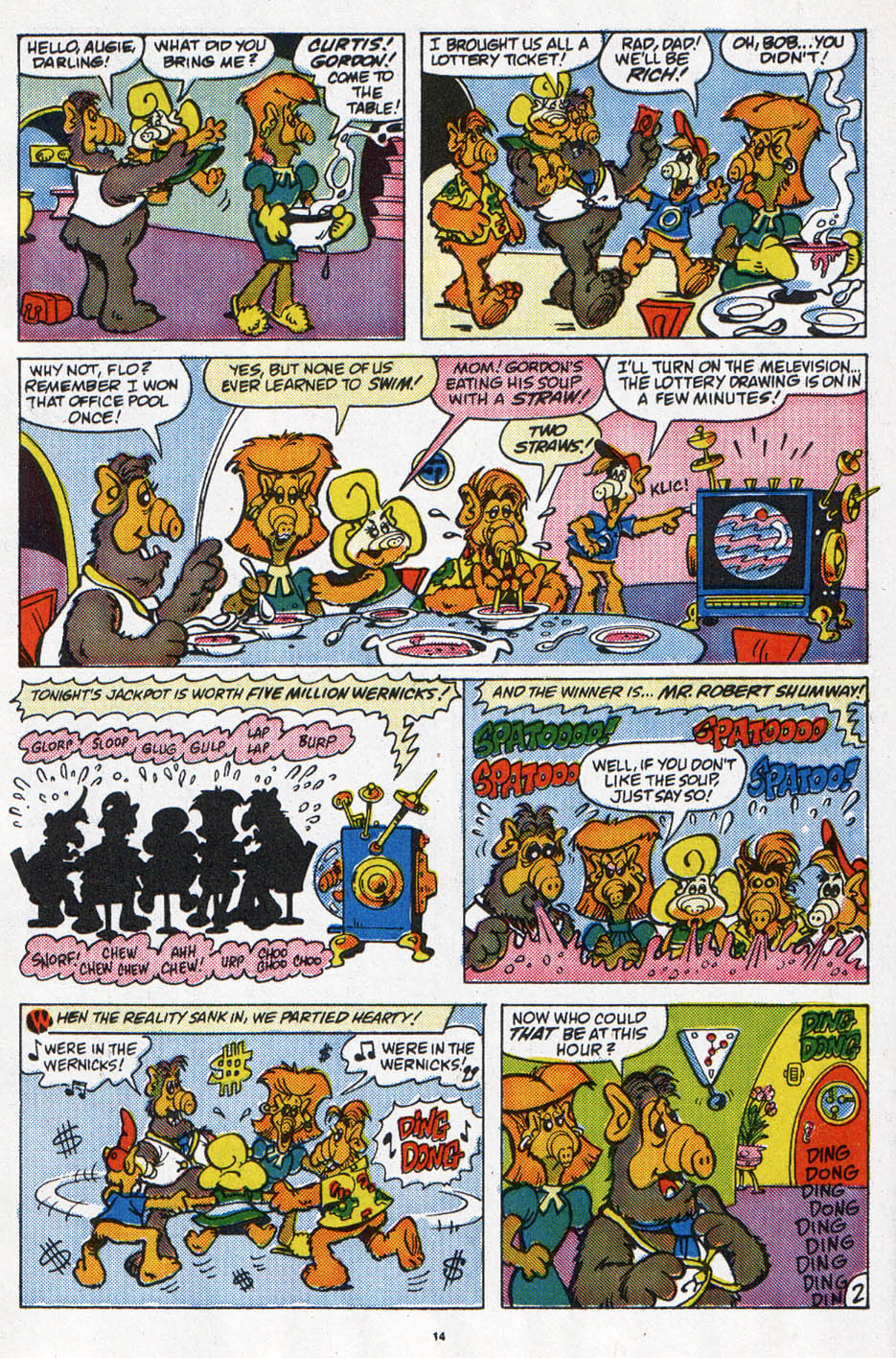 Read online ALF comic -  Issue #6 - 11