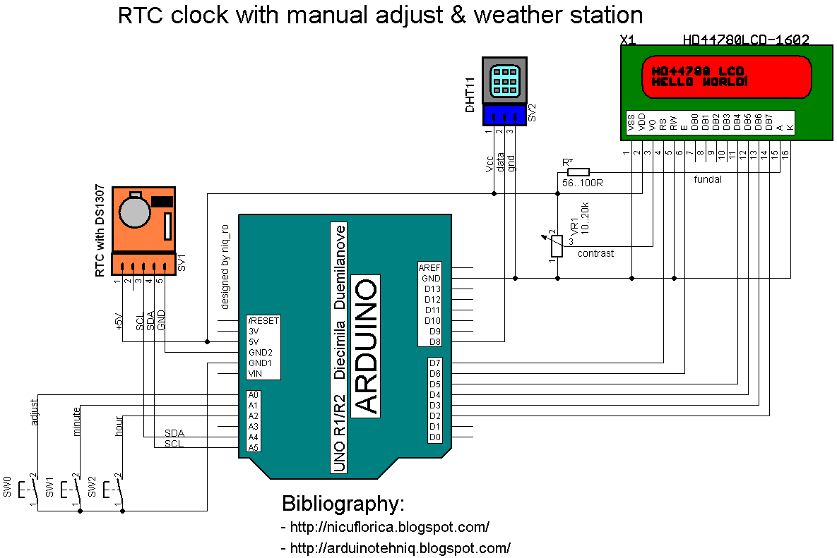 Arduino Lcd Wiring Diagram Will Be A Thing 1602 Schematic Ethernet Cable 16x2 And Circuit