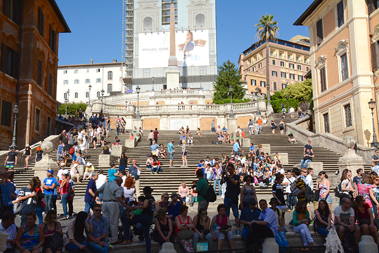 Spanish Steps in Rome, Italy | My Darling Days