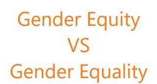 gender equity vs gender equality