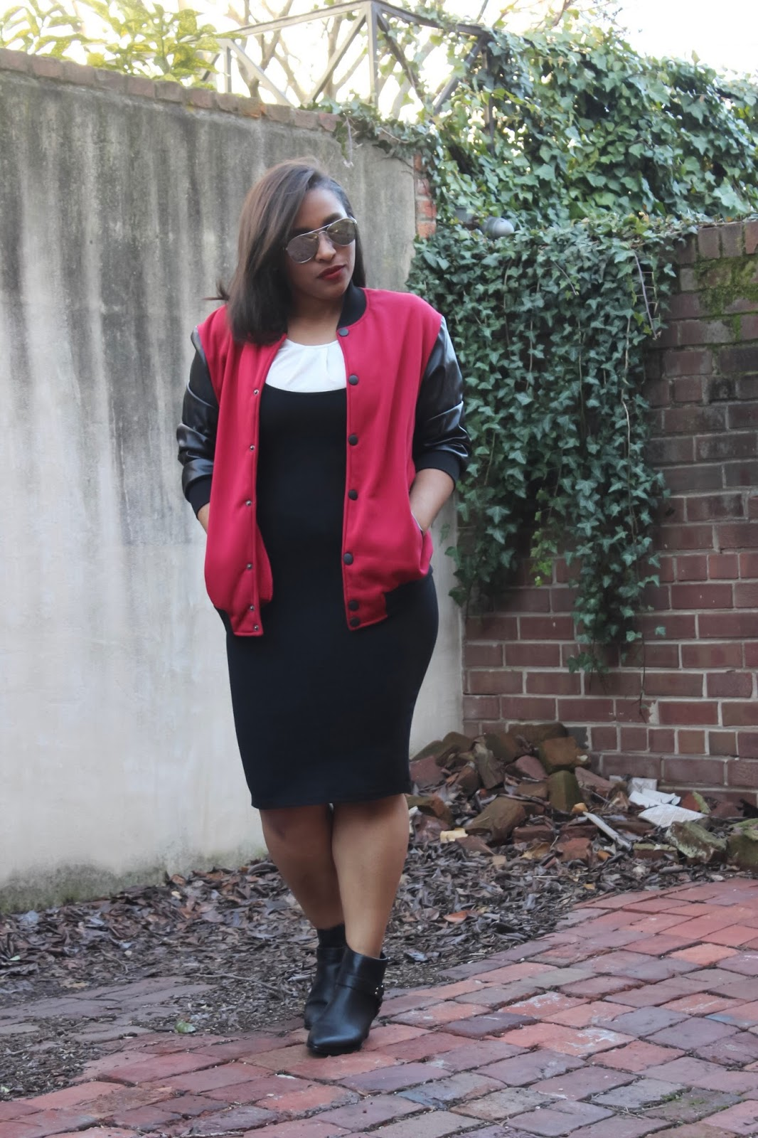 menswear, bomber jacket, mixing feminine and masculine, mixing wardrobe pieces