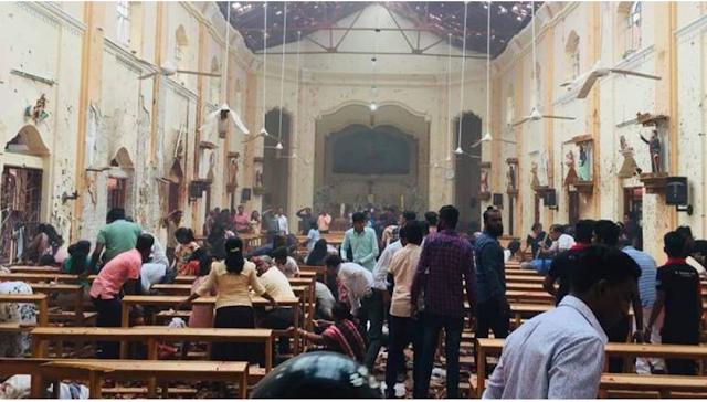 Sri Lanka Church Bomb Blast