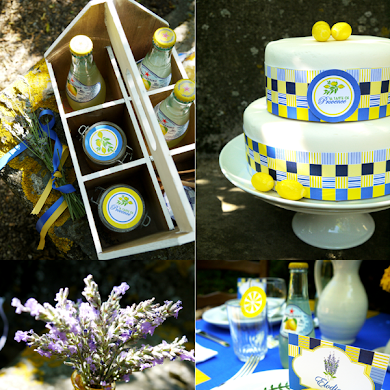 Lemon and Lavender Provence Brunch Tablescape