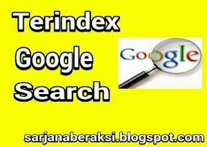 cara agar artikel cepat terindex google search