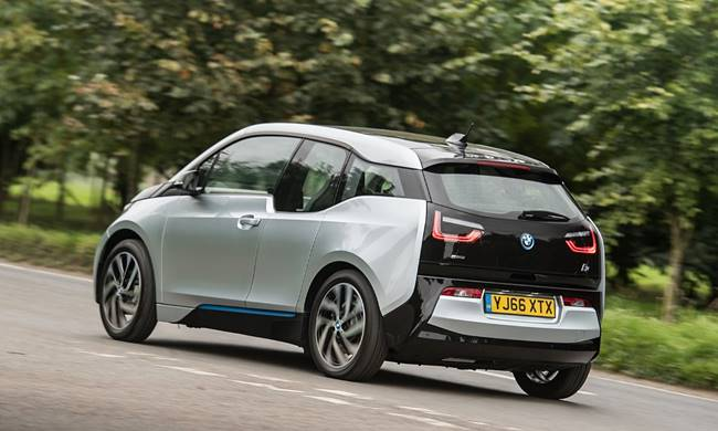 2017 BMW i3 94 Ah UK Spec