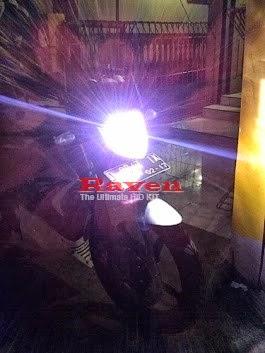 Lampu HID Motor RAVEN HID 12000k
