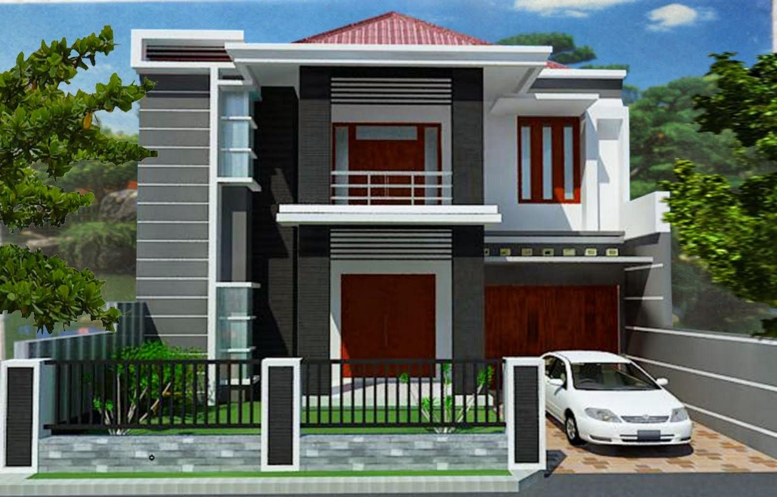 Berbagai Desain Rumah 2 Lantai Rumah Idaman