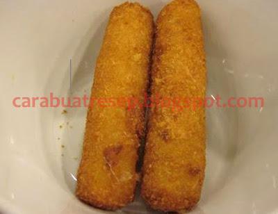 Resep Keju Cheddar Goreng Richeese Factory Renyah Crispy Sederhana Spesial Asli Enak CARA MEMBUAT KEJU CHEDDAR GORENG RICHEESE FACTORY
