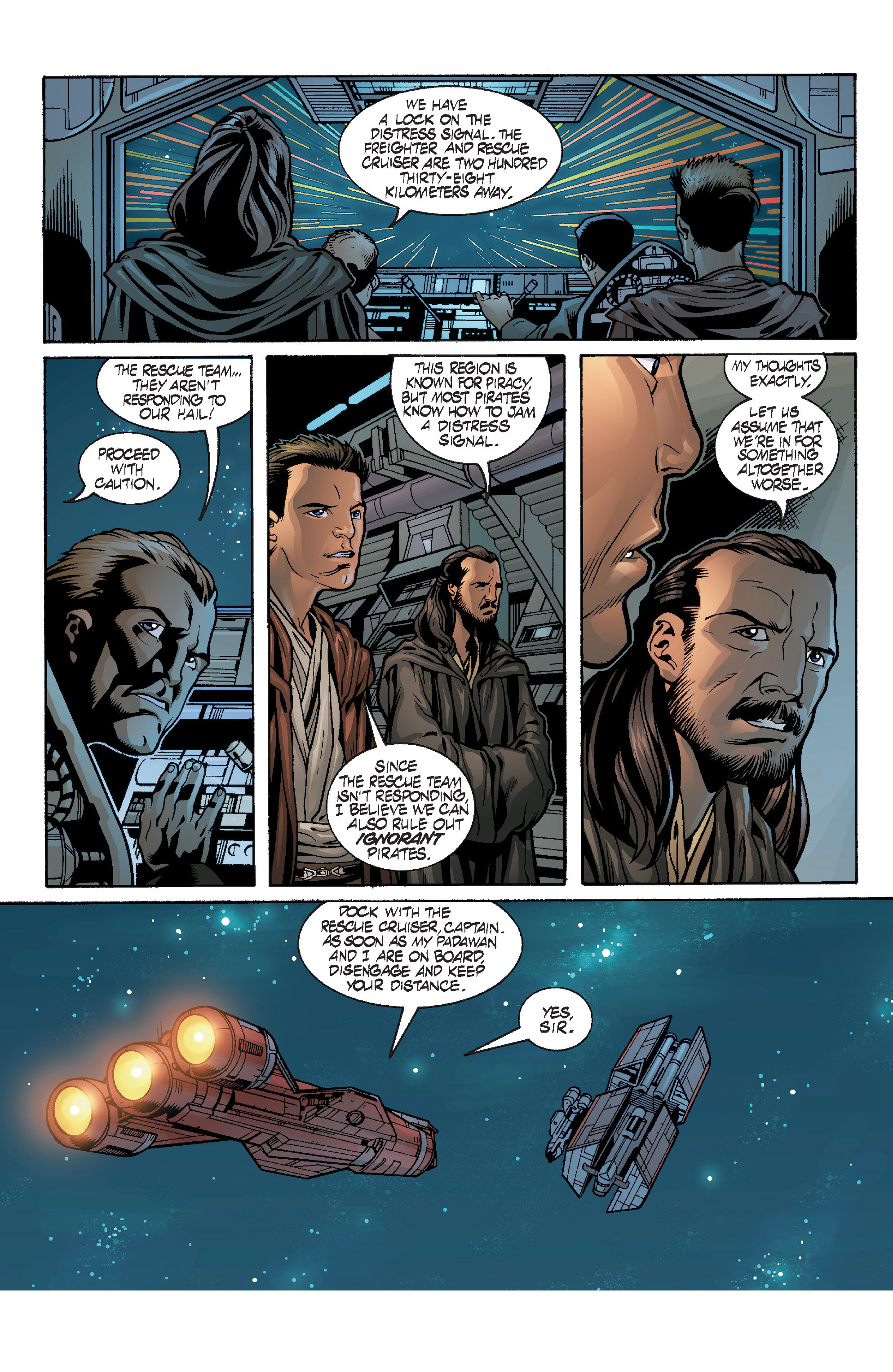 Read online Star Wars: Qui-Gon & Obi-Wan - Last Stand on Ord Mantell comic -  Issue #1 - 13