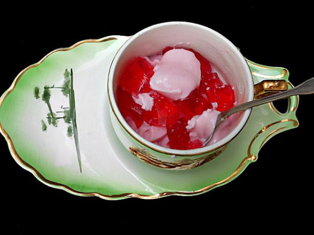 iogurte de gelatina