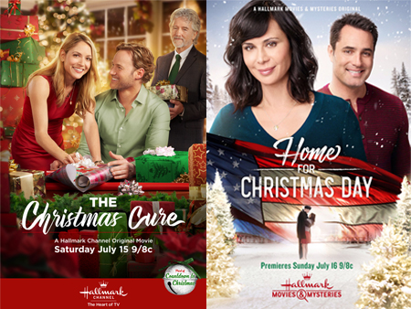 Hallmark Christmas In July Logo.Its A Wonderful Movie Your Guide To Family And Christmas