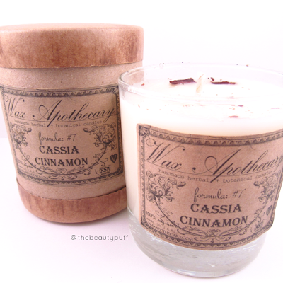 wax apothecary cinnamon - the beauty puff