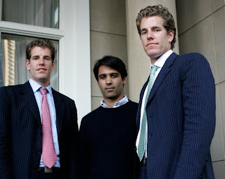 Who was real facebook founder divya
