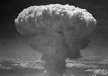 Explosión de la bomba nuclear de Hiroshima