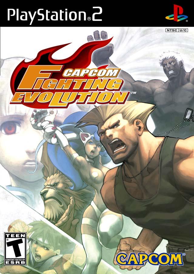 Capcom Fighting Evolution NTSC PS2