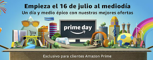 Promociones previas al Amazon Prime Day 2018
