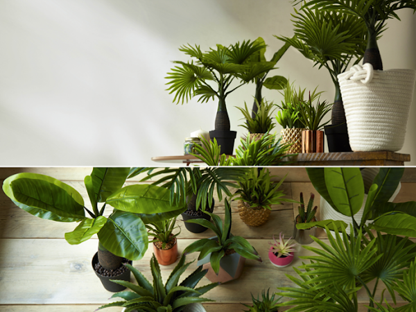 Deco: plantas artificiales