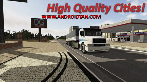 Heavy Truck Simulator Mod Apk Data for Android