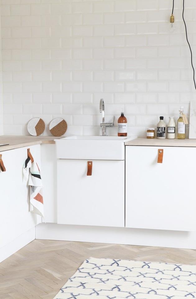2 cocinas nrdicas con el tirador de moda Cual te gusta