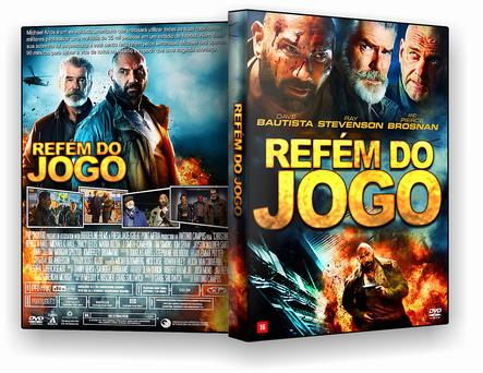 CAPA DVD – Refem Do Jogo DVD-R