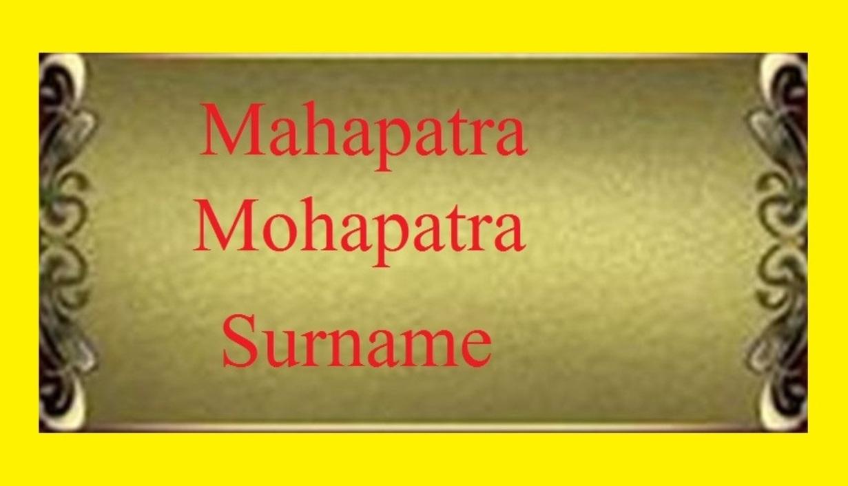 Vaishya surnames