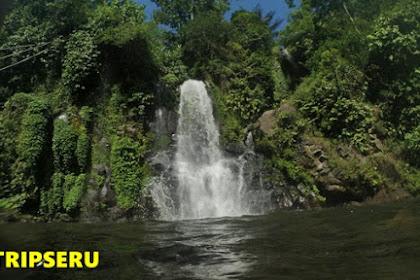 Air Terjun Kebo Iwa dan Batu Meteras Desa Mengening