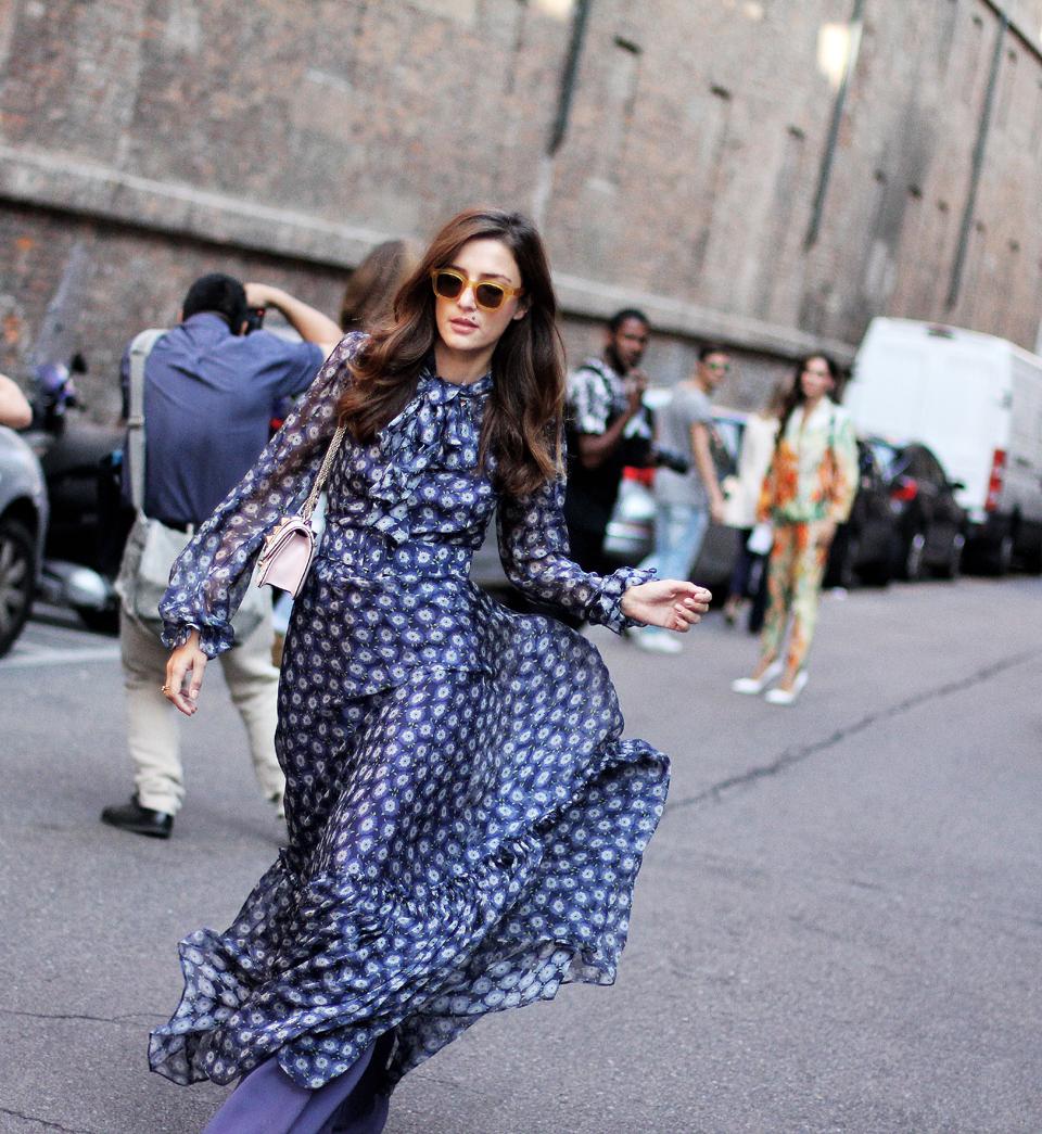 O Divertido Street Style Da Milan Fashion Week The Fashion Mood Book