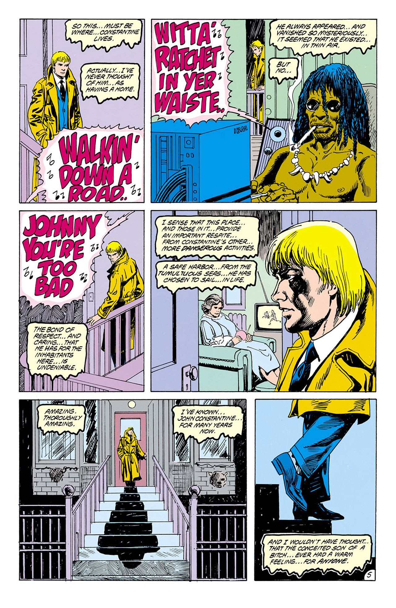Swamp Thing (1982) Issue #76 #84 - English 5