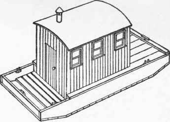 Boat builder porn a secret history of american river people for Boat house designs plans