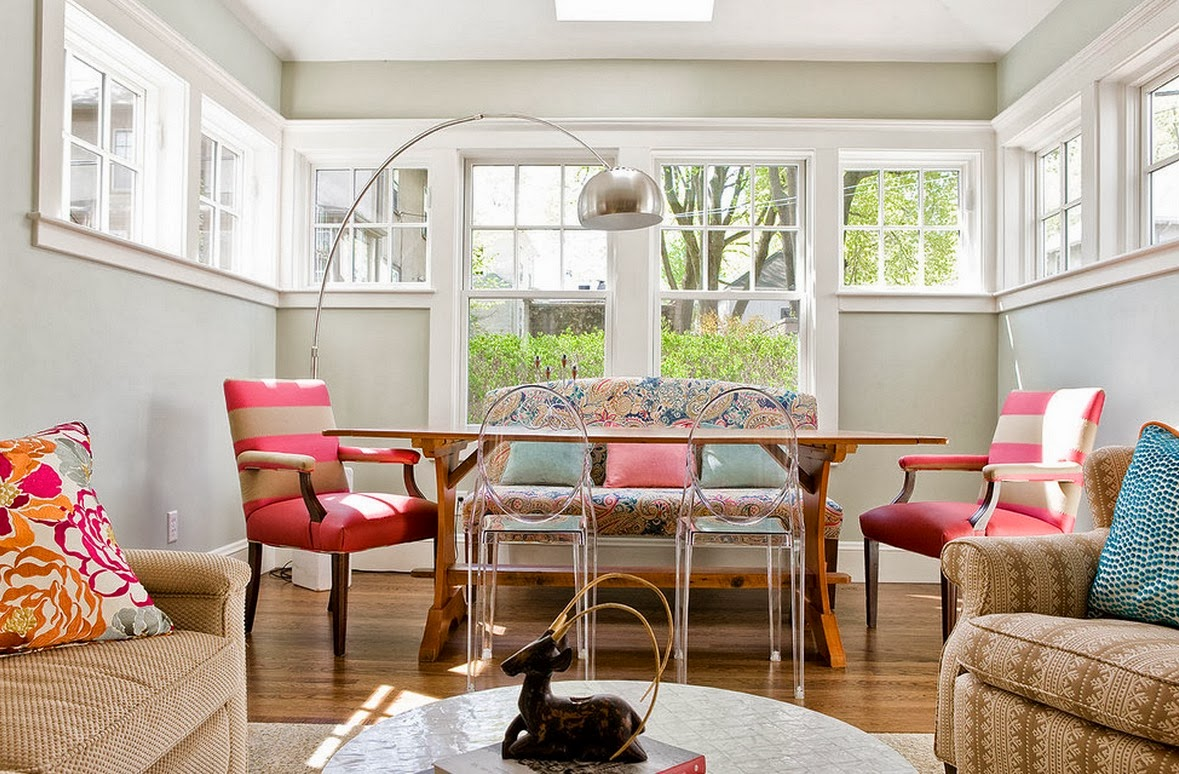 Mismatched Dining Chairs White Resin Patio Smartgirlstyle Room