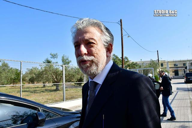 Ο Υπουργός Δικαιοσύνης Σταύρος Κοντονής στο Ναύπλιο