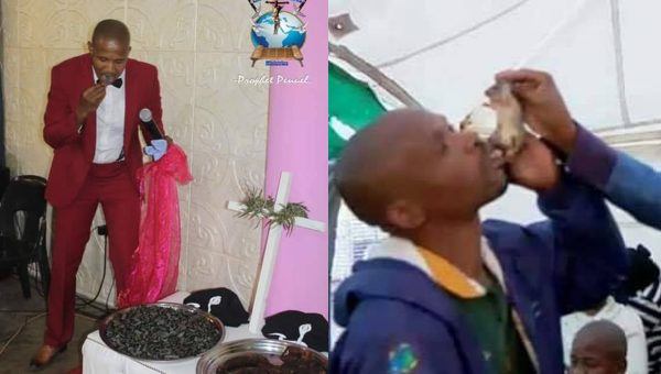 Self-proclaimed pastor serves 'dog meat' as holy communion