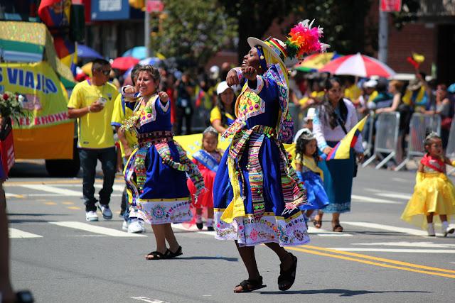 foto de grupo de danza folclorica ecuatoriana en Queens NY. - Pachamama tinkus