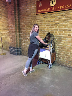 Harry Potter studio tour Leavesden Platform 9 3/4s