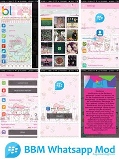 BBM MOD Whatsapp Melody APK